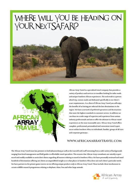 African Array Travel Advert Draft 1