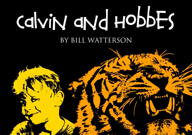 Calvin & Hobbes Tribute by Ross Hoddinott