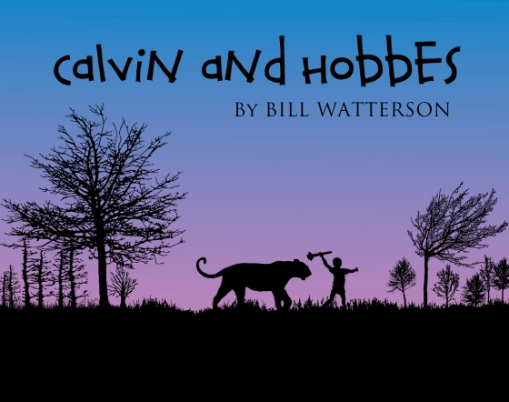 Calvin and Hobbes by Bill Watterson tribute