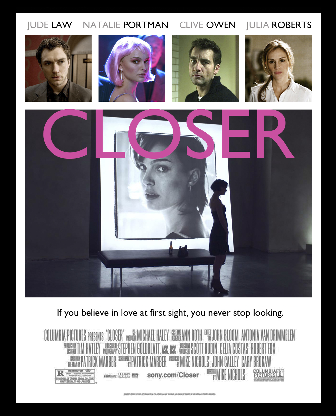 The closer movie posters