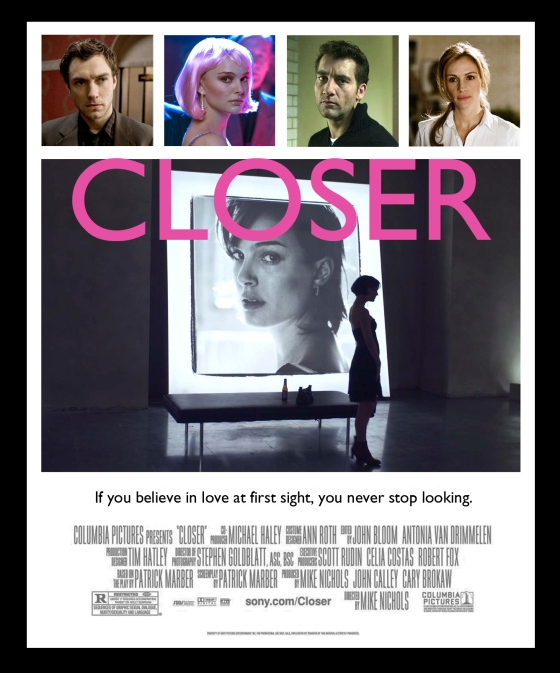 Closer (2004) Variant by Ross Hoddinott