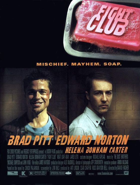 Fight Club (1999) Theatrical Poster
