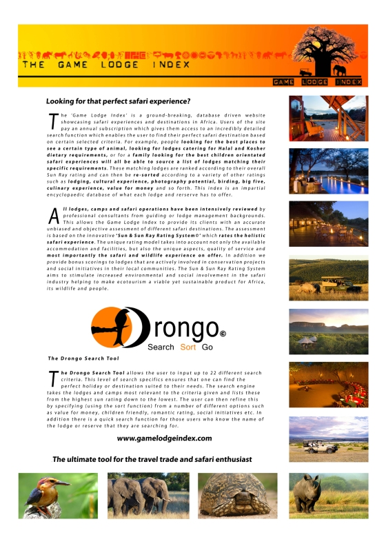 Game Lodge Index Advert Draft 1