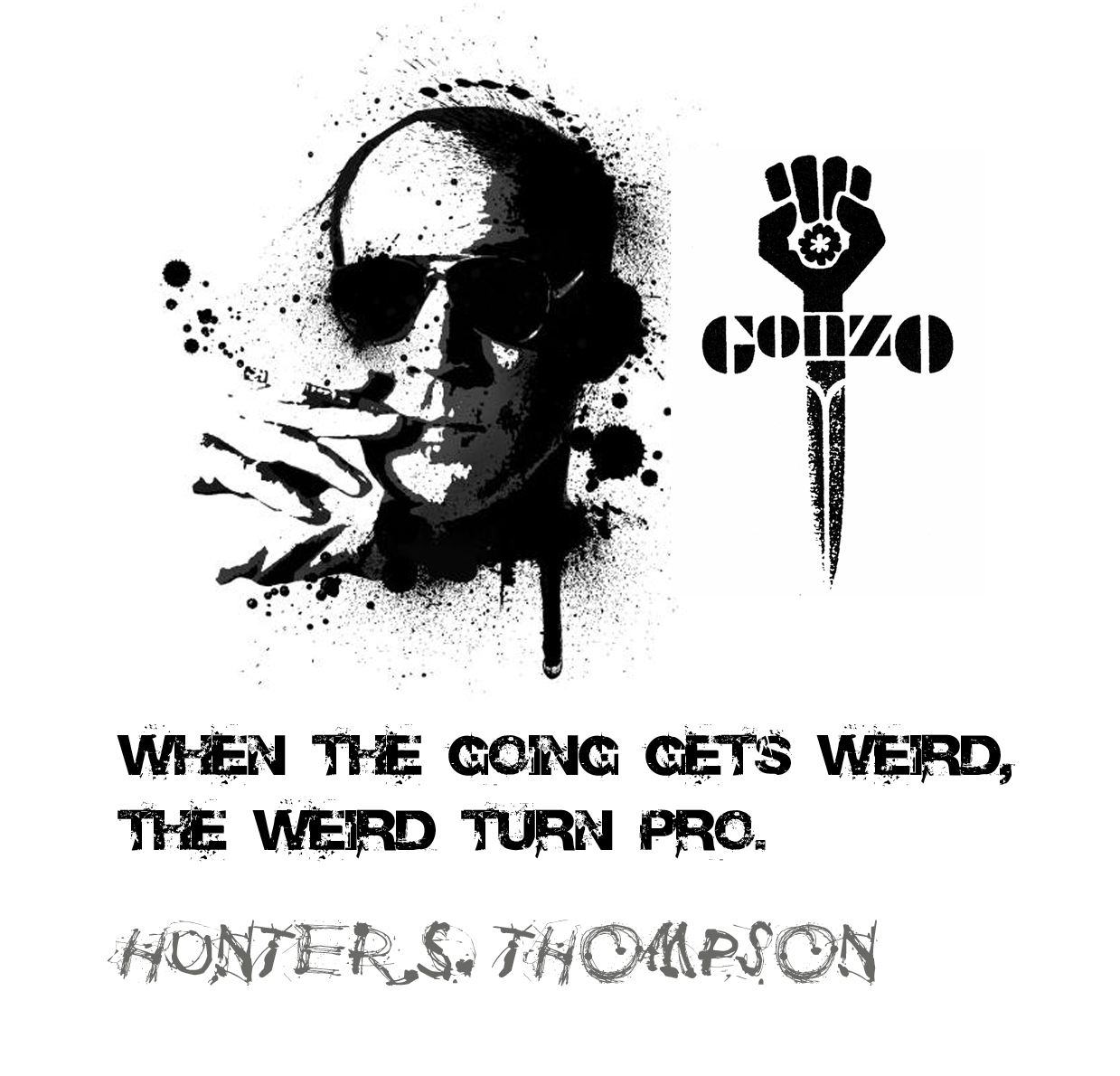 ... seems to breed contempt by Hunter S Thompson @ Like Success