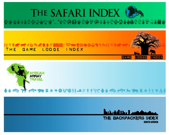 African Array web banners