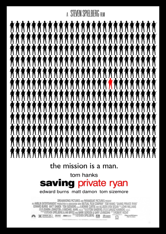 Saving Private Ryan (1997) Homage Poster