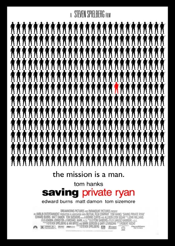 Saving Private Ryan (1997) Homage Poster
