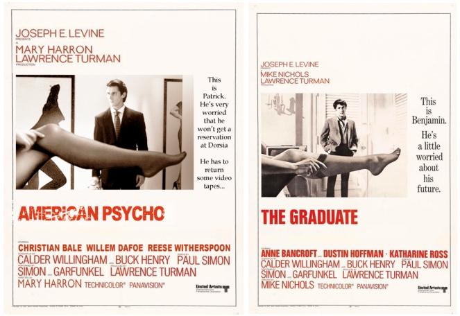 The Graduate-American Psycho Mashup