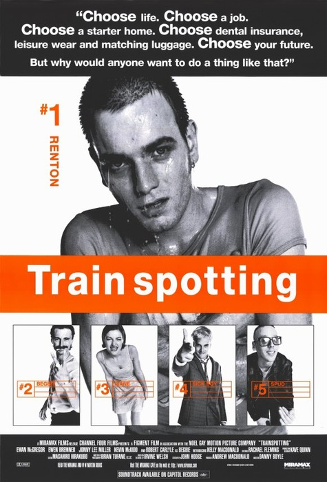 train spotting Renton, deeply immersed in the edinburgh drug scene, tries to clean up and get out, despite the allure of the drugs and influence of friends.