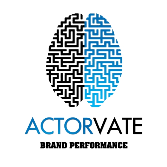Actorvate Logo 2011 by Ross Hoddinott (Early Draft)