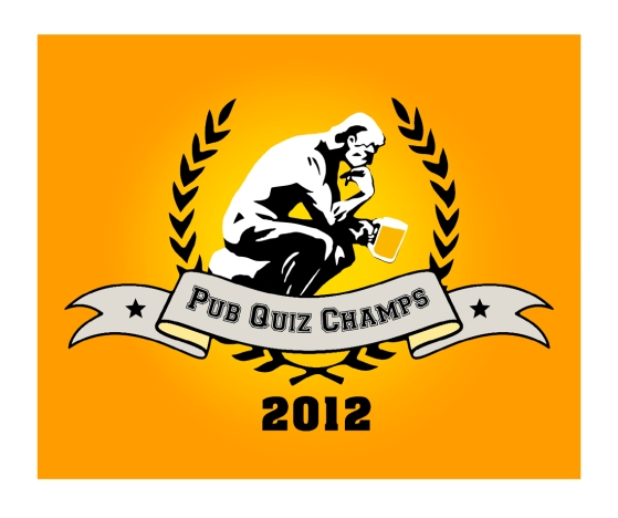 Pub Quiz Champs 2012 logo by Ross Hoddinott
